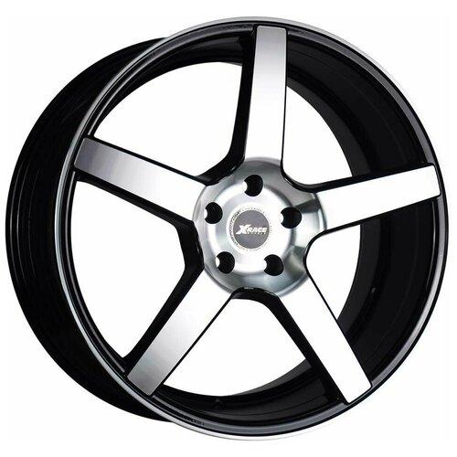 Колесный диск X-Race AF-07 9.5x20/5x112 D66.6 ET52 BKF диск x race af 10 6 x 15 модель 9162380