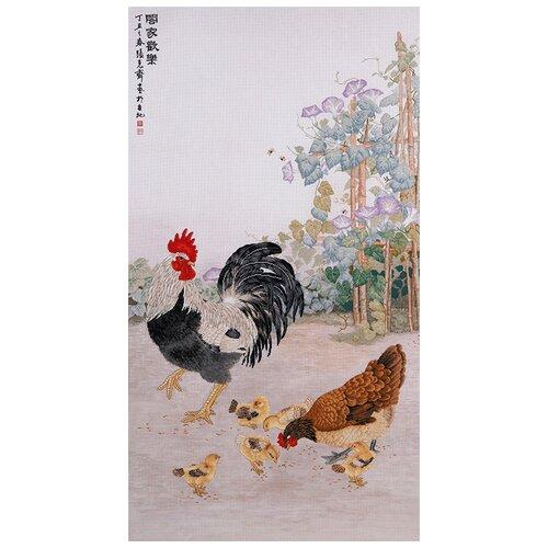 Купить Набор для вышивания Куриное семейство XIU Crafts 2800105, Наборы для вышивания