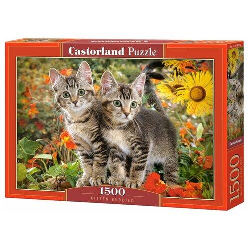 Пазл Castorland Усатые приятели (C-151899), 1500 дет. пазл castorland kittens play time c 151639 1500 дет