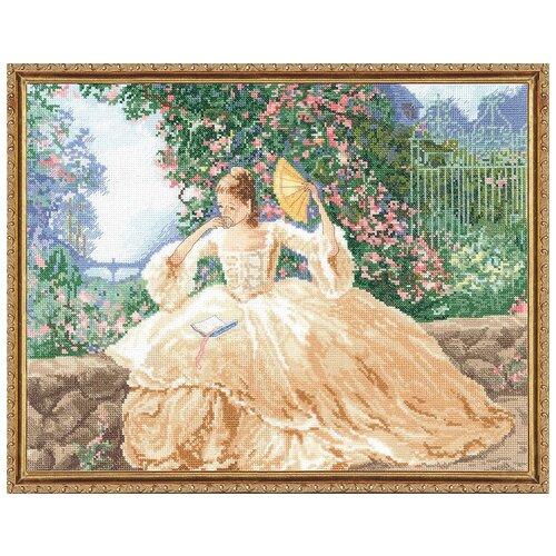 Набор для вышивания Локоны и розы JANLYNN 032-0104, Наборы для вышивания  - купить со скидкой