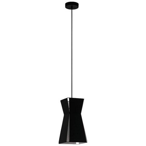 Светильник Eglo Valecrosia 99082, E27, 40 Вт, кол-во ламп: 1 шт., цвет арматуры: черный, цвет плафона: черный светильник eglo подвесной valecrosia 99082