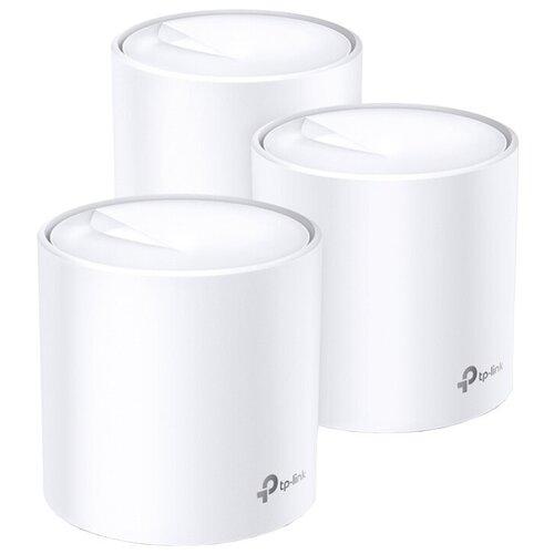 Фото - Wi-Fi Mesh система TP-LINK Deco X60 (3-pack), белый mesh wi fi система tp link deco m5 2 pack