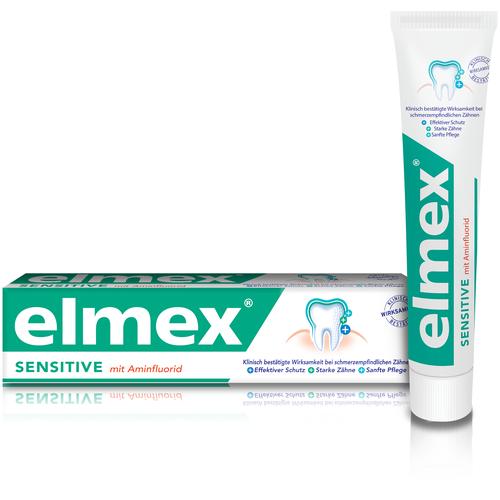 Зубная паста Elmex ELMEX Сенситив Плюс для чувствительных зубов, 75 мл r o c s паста lapikka зубная сенситив для чувствительных зубов 94г