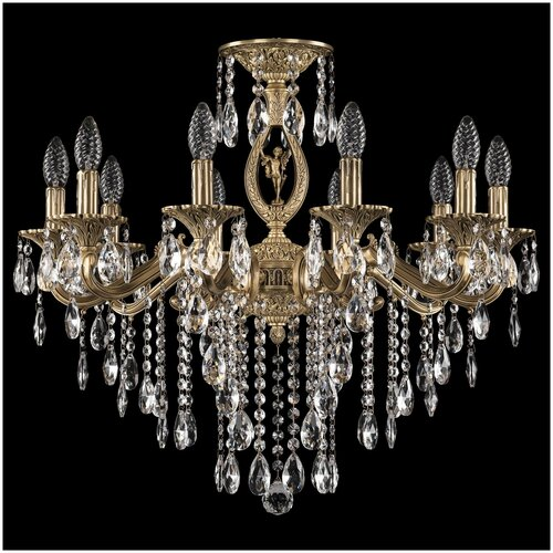 Фото - Люстра Bohemia Ivele Crystal 72402/10/210 B FP FA5S, E14, 400 Вт люстра bohemia ivele crystal 72402 10 250 a fp fh1m e14 400 вт