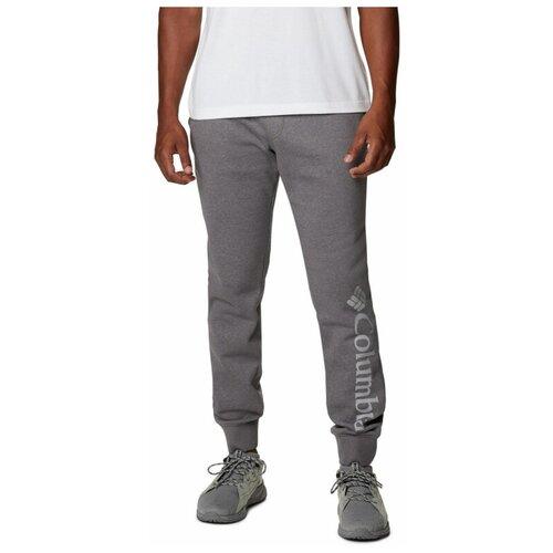 Брюки Columbia M CSC Log Fleece Jogger II, размер L, grey брюки columbia m csc log fleece jogger ii размер m black city grey
