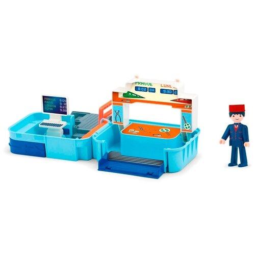 Игровой набор Efko Диспетчерская с фигуркой диспетчера в чемоданчике 32221EF-CH