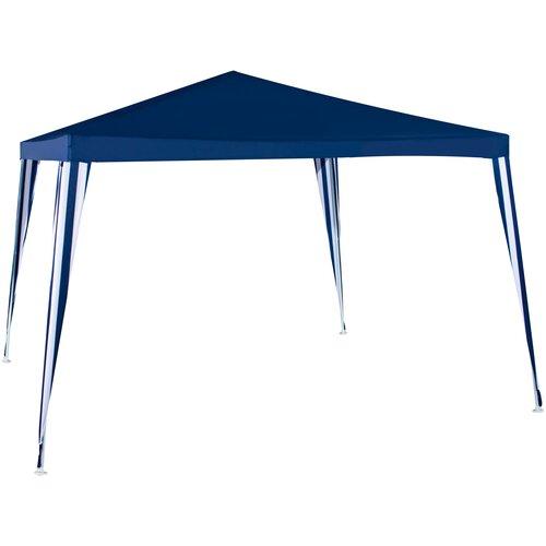 Шатер Green Glade 1022, 3 х 3 х 2.5 м синий / белый шатер green glade 1032 3 х 3 х 2 5 м синий белый