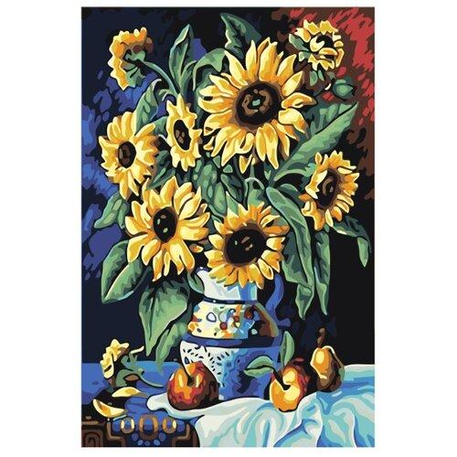 Купить Картина по номерам, 100 x 150, F07, Живопись по номерам , набор для раскрашивания, раскраска, Картины по номерам и контурам