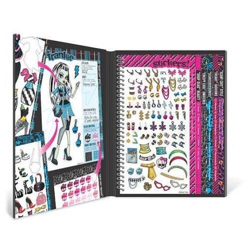 Купить Набор для творчества Fashion Angels Делюкс. Школа монстров, с наклейками, Поделки и аппликации
