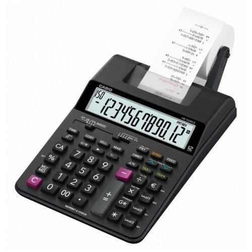 Калькулятор бухгалтерский CASIO HR-150RCE-WA черный