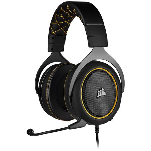 Фото - Компьютерная гарнитура Corsair HS60 Pro Surround Gaming Headset yellow компьютерная гарнитура corsair hs50 pro stereo gaming headset черный матовый