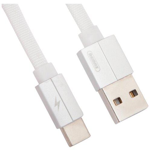 Кабель Remax Kerolla USB - USB Type-C (RC-094a) 1 м, белый кабель remax kerolla usb usb type c rc 094a 1 м черный