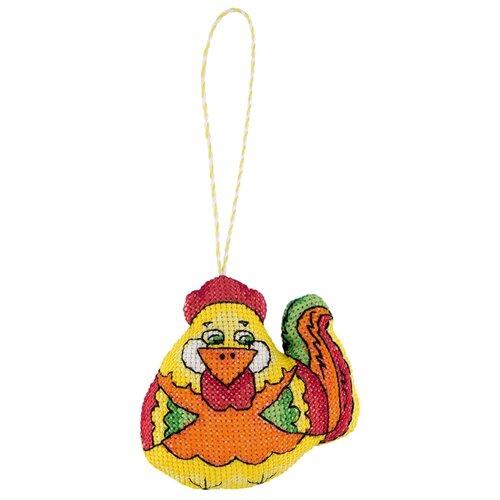 Купить PANNA Набор для вышивания Игрушка. Петушок 9 x 9 см (IG-1855), Наборы для вышивания