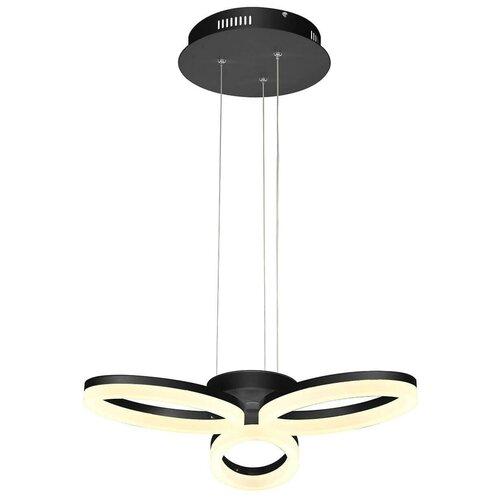 Люстра светодиодная HOROZ ELECTRIC 019-006-0024 черная, LED, 24 Вт недорого