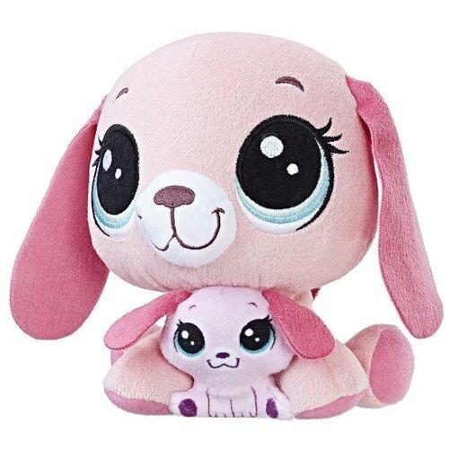 Мягкая игрушка Hasbro Littlest Pet Shop Holly&Bitsy 17 см