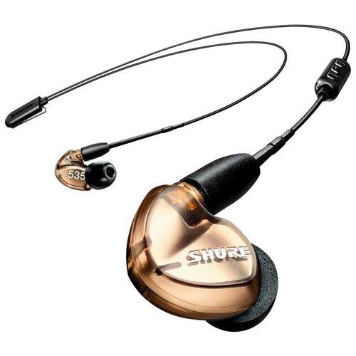 Беспроводные наушники Shure SE535-V+BT2, bronze