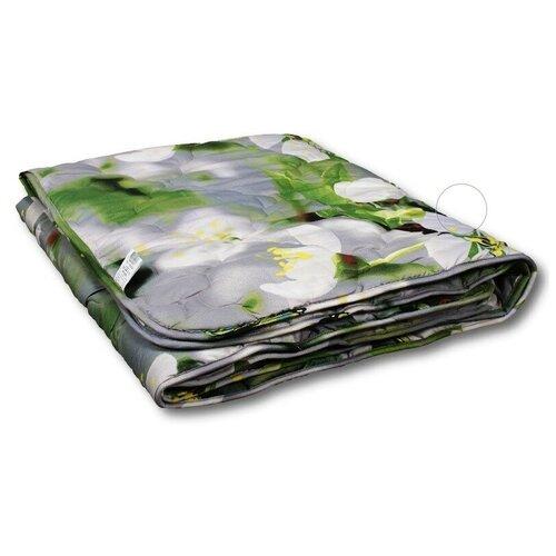 Фото - Одеяло АльВиТек Традиция, всесезонное, 200 х 220 см (серый/белый/зеленый) одеяло альвитек крапива традиция легкое 200 х 220 см зеленый