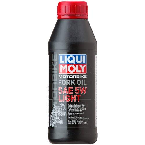 Вилочное масло LIQUI MOLY Motorbike Fork Oil Light 5W 0.5 л