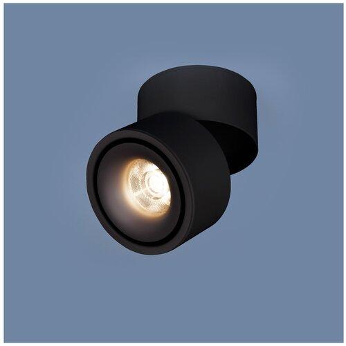 Спот Elektrostandard DLR031 черный