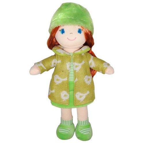 Фото - Мягкая игрушка ABtoys Кукла рыжая в зелёном пальто 36 см мягкая игрушка abtoys кукла рыжая в голубом платье 20 см