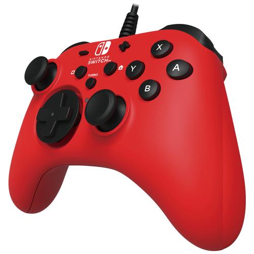 Геймпад HORI HoriPad Wired Controller for Nintendo Switch красный