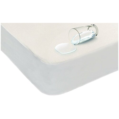 Наматрасник Аскона Cotton Cover, 80х200х30 см белый