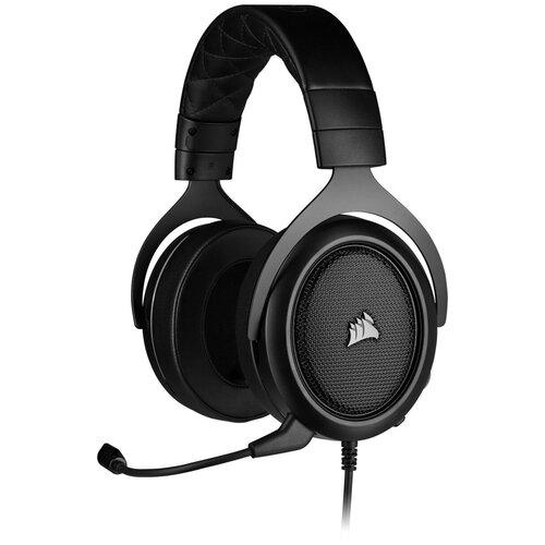 Фото - Компьютерная гарнитура Corsair HS50 Pro Stereo Gaming Headset черный матовый компьютерная гарнитура corsair hs50 pro stereo gaming headset черный матовый