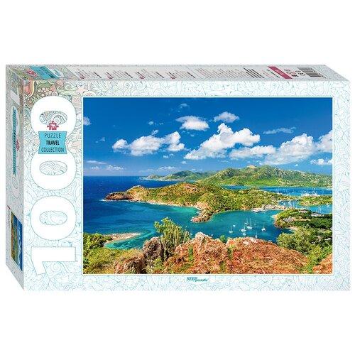 Пазл Step puzzle Travel Collection Антигуа и Барбуда (79139), 1000 дет., Пазлы  - купить со скидкой