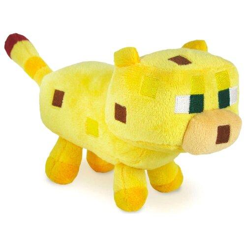 Мягкая игрушка MOJANG Детеныш Оцелота из Minecraft 18 см