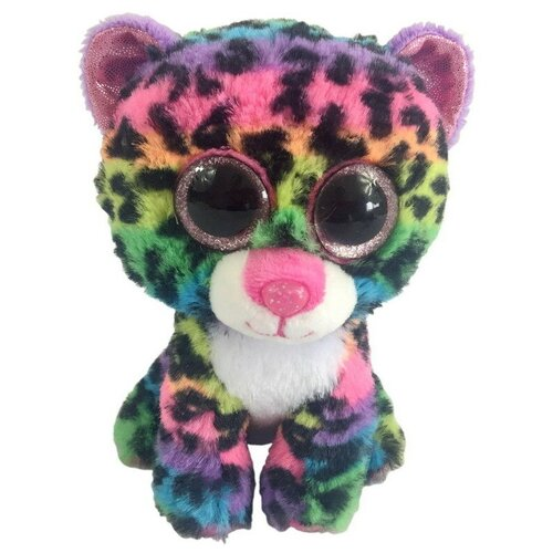Мягкая игрушка Chuzhou Greenery Toys Леопард мультиколор 15 см