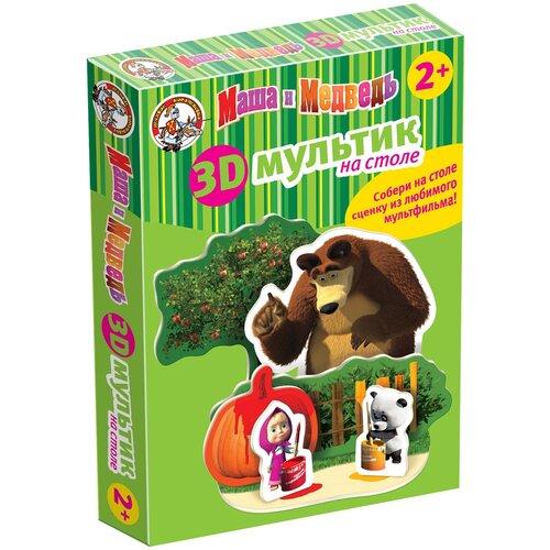 3D-пазл Десятое королевство Краски с Машей и Медведем (01437), 7 дет. потанина ирина сергеевна математика с машей и медведем
