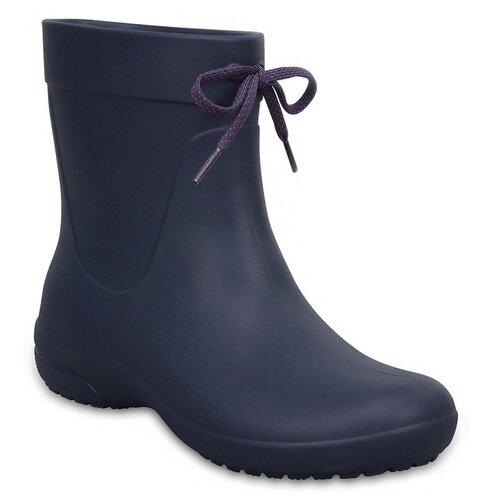 Резиновые сапоги Crocs Women's Freesail Shorty Rain Boots, размер 35(W5), navy