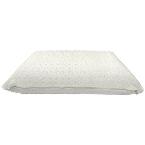 Подушка Василиса Memory Foam высота 8,8 см, трикотаж 37.5 х 59 см белый
