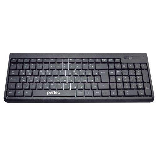 Клавиатура Perfeo PF-2506WL Black USB