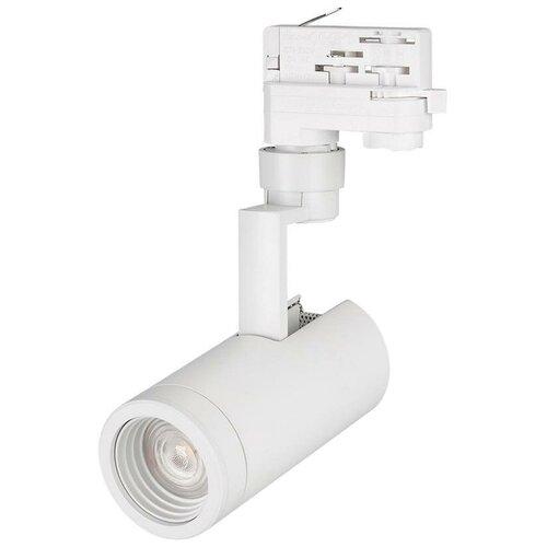 Трековый светильник-спот Arlight LGD-ZEUS-4TR-R67-10W Warm (WH, 20-60 deg) трековый светильник спот arlight lgd zeus 4tr r88 20w day bk 20 60 deg