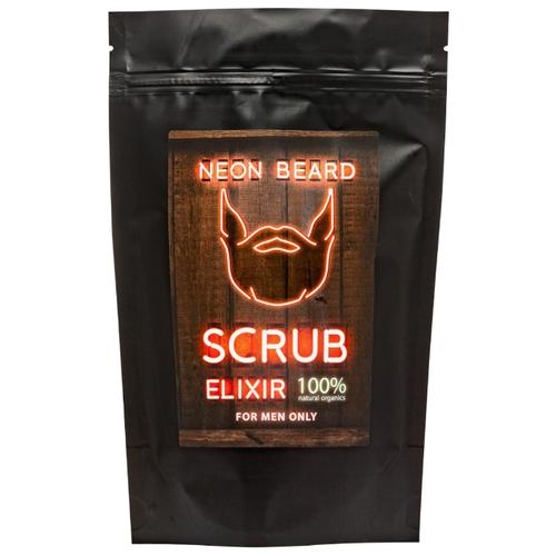 Купить Скраб для тела NEON BEARD COFFEE MOROCCAN с натуральным кофе, розовой солью и маслами 200 гр.