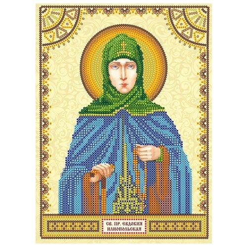 Купить ABRIS ART Схема для вышивания бисером Святая Евдокия 17 х 23 см (ACK-100), Наборы для вышивания