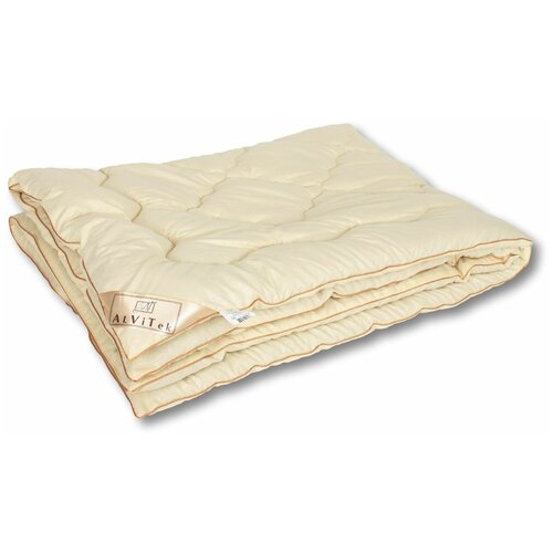 Фото - Одеяло АльВиТек Модерато-Эко, всесезонное, 172 х 205 см (сливочный) одеяло альвитек модерато эко всесезонное 172 х 205 см сливочный
