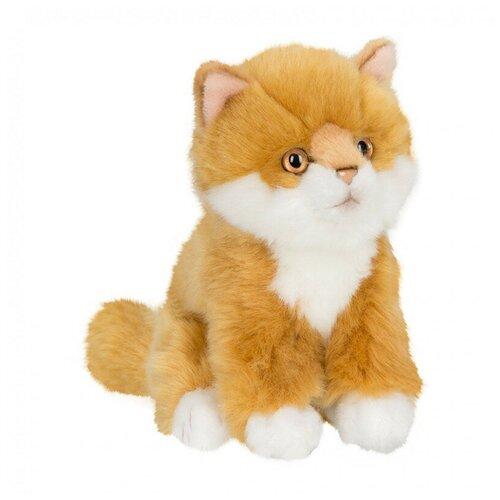 Мягкая игрушка Anna Club Plush Котёнок Сибирский рыжий сидящий 15 см