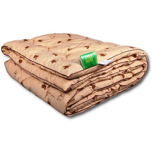 Фото - Одеяло АльВиТек Сахара-Стандарт, всесезонное, 172 х 205 см (коричневый) одеяло альвитек холфит комфорт в чемодане всесезонное 172 х 205 см фиолетовый