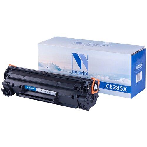 Фото - Картридж NV Print CE285X для HP, совместимый картридж nv print ce742a для hp совместимый