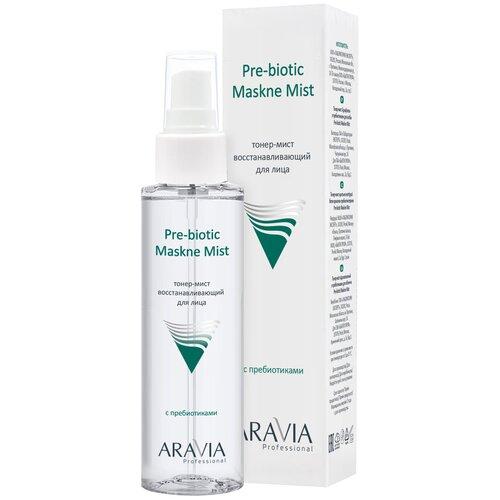 ARAVIA Professional Тонер-мист восстанавливающий с пребиотиками для лица Pre-biotic Maskne Mist, 110 мл
