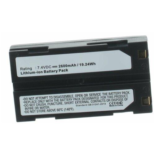 Фото - Аккумулятор iBatt iB-U1-F404 2400mAh для Pentax El-2000, аккумулятор ibatt ib u1 f428 1180mah для gopro hd hero3 hd hero3