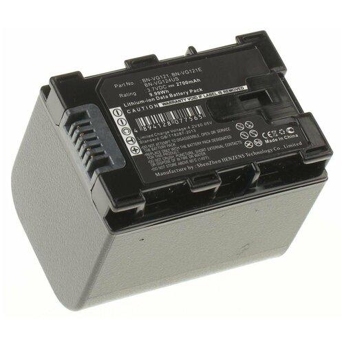 Аккумулятор iBatt iB-B1-F170 2700mAh для JVC BN-VG108E, BN-VG114E, BN-VG114, BN-VG138, BN-VG108, BN-VG121,