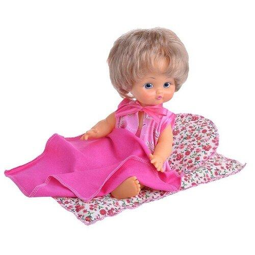 Кукла Саша с приданным 30см., в коробке