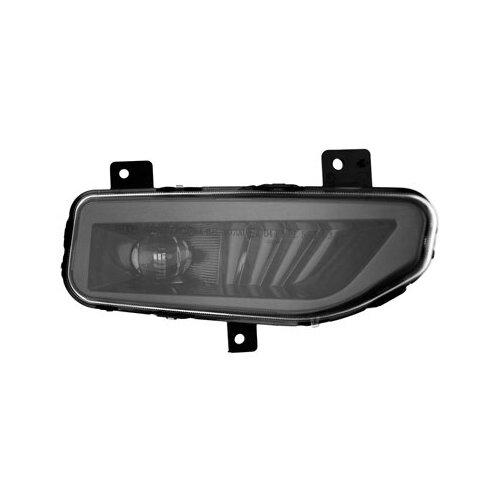 Фары противотуманные светодиодные автомобильные MTF Light NISSAN NEW, линза, 12В, 5000К, 8Вт, ЕСЕ R19, E4 комплект (black)