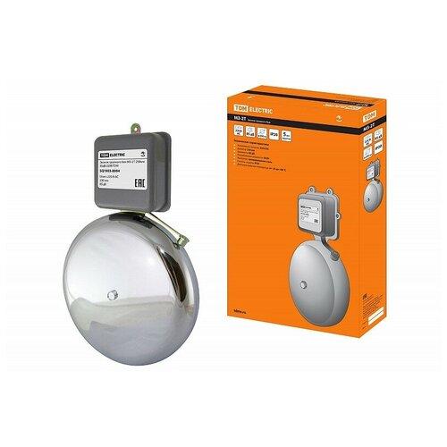 Звонок громкого боя МЗ-2Т-250мм 85дБ 220В TDM, цена за 1 шт