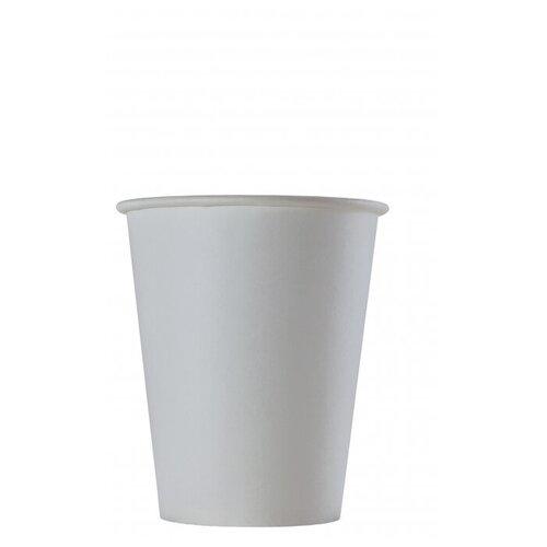 Стакан одноразовый бумажный белый HB70-180 вендинг 150мл, d=70,100шт/уп