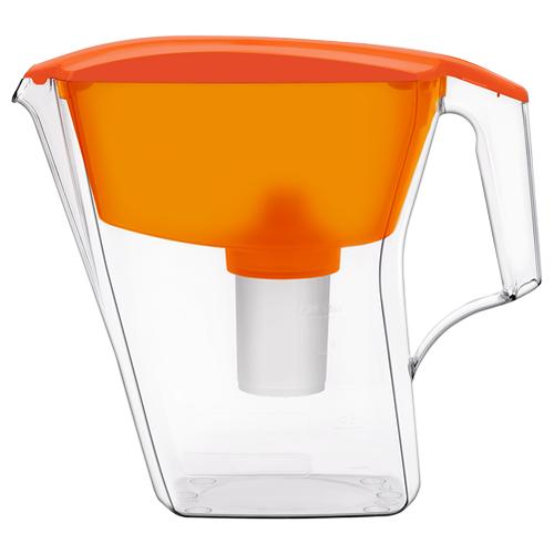 Фильтр кувшин Аквафор Лайн 1.2 л оранжевый