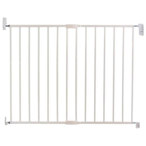 барьеры и ворота munchkin барьеры ворота easy close mck ext metal расширяющиеся Munchkin Ворота безопасности Easy Close 63.5 - 102 см 11441 белый